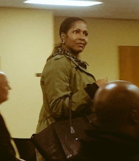 Sheree Whitfield In Court Today Facing Charges Regarding Her Housewarming Party
