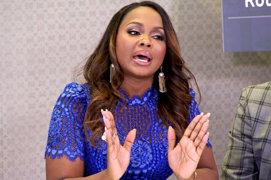 Once More With Feeling! Phaedra Parks Is NOT Divorced.