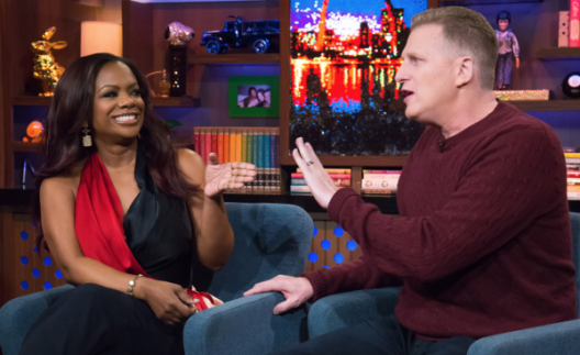Kandi Burruss On WWHL With That Idiot Person