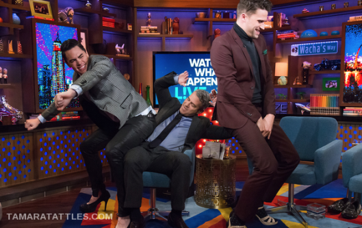 #WWHL With Tom Sandovol and Tom Schwartz