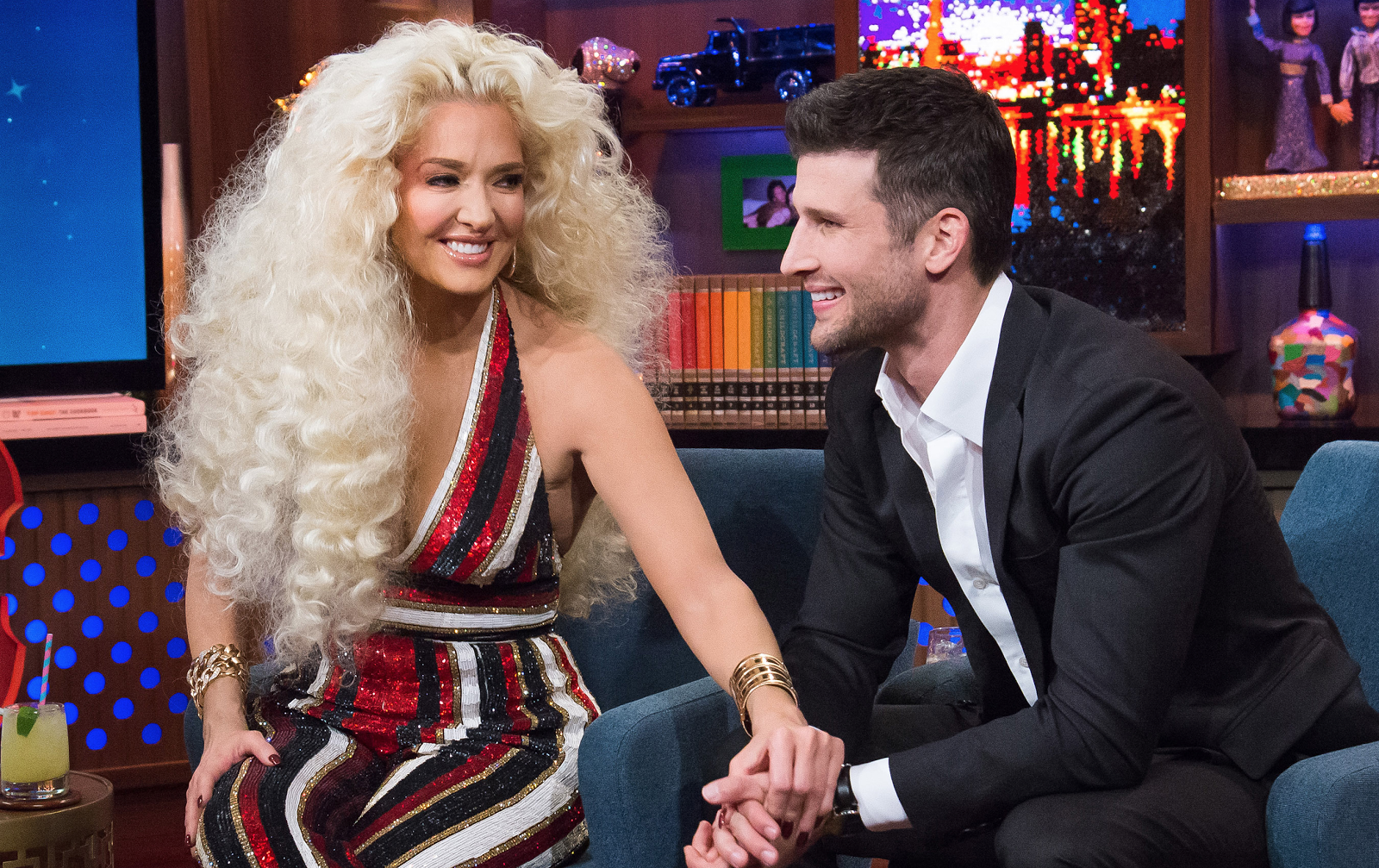 Wwhl With Erika Jayne And Parker Young