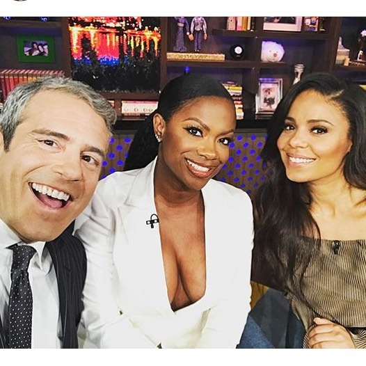 WWHL Kandi Burruss and Sanaa Lathan