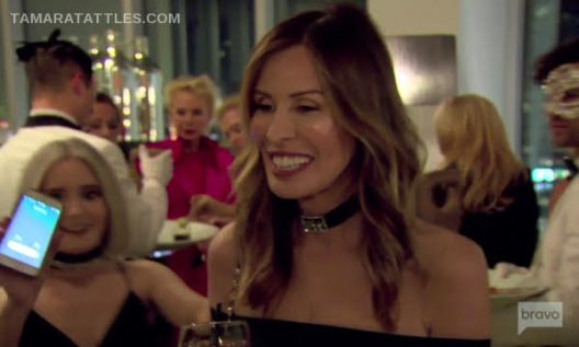 Carole Radziwill Blogs About The Hot Mic Issue