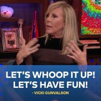 Watch What Happens Live With Vicki Gunvalson and Rita Wilson