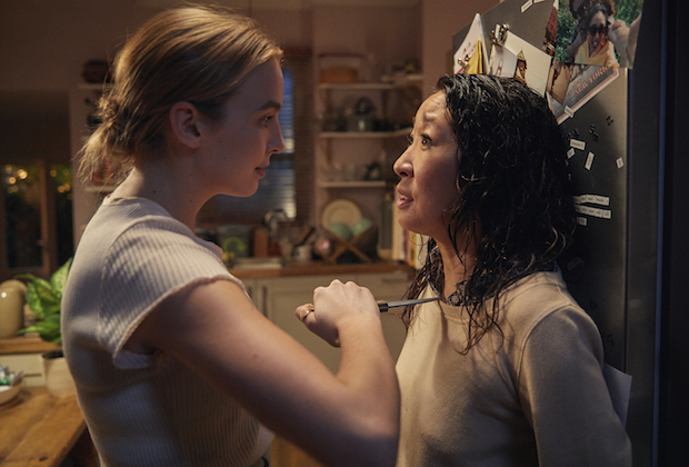Killing Eve Recap Eve and Villanelle face to face