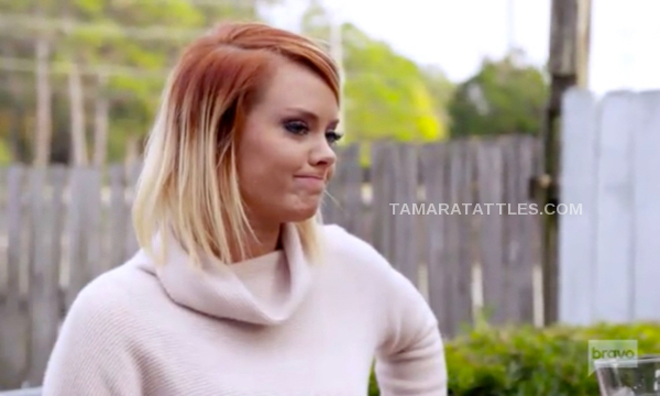 Southern Charm's Kathryn Dennis looks irritated