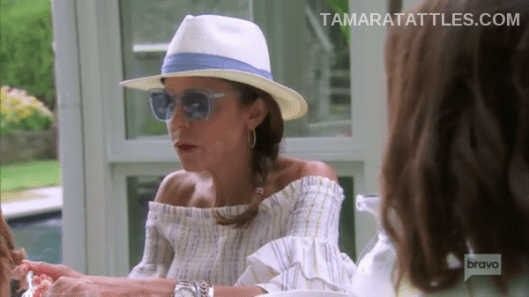 Bethenny Frankel in the Hamptons