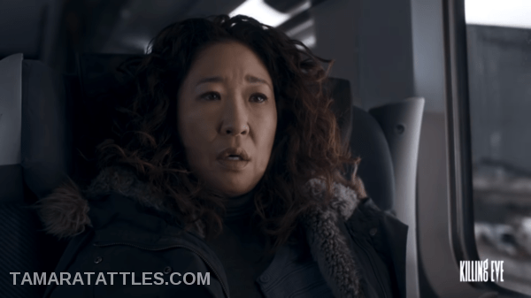 Killing Eve Eve on the chunnel