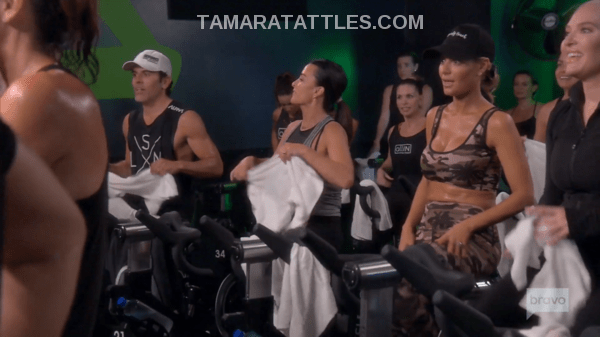 Spin Class with the RHOBH for Vanderpump Dogs