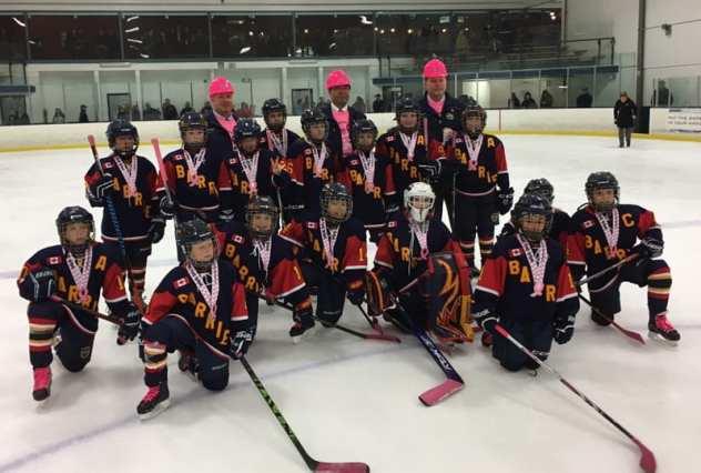 Hockey team sponsorships