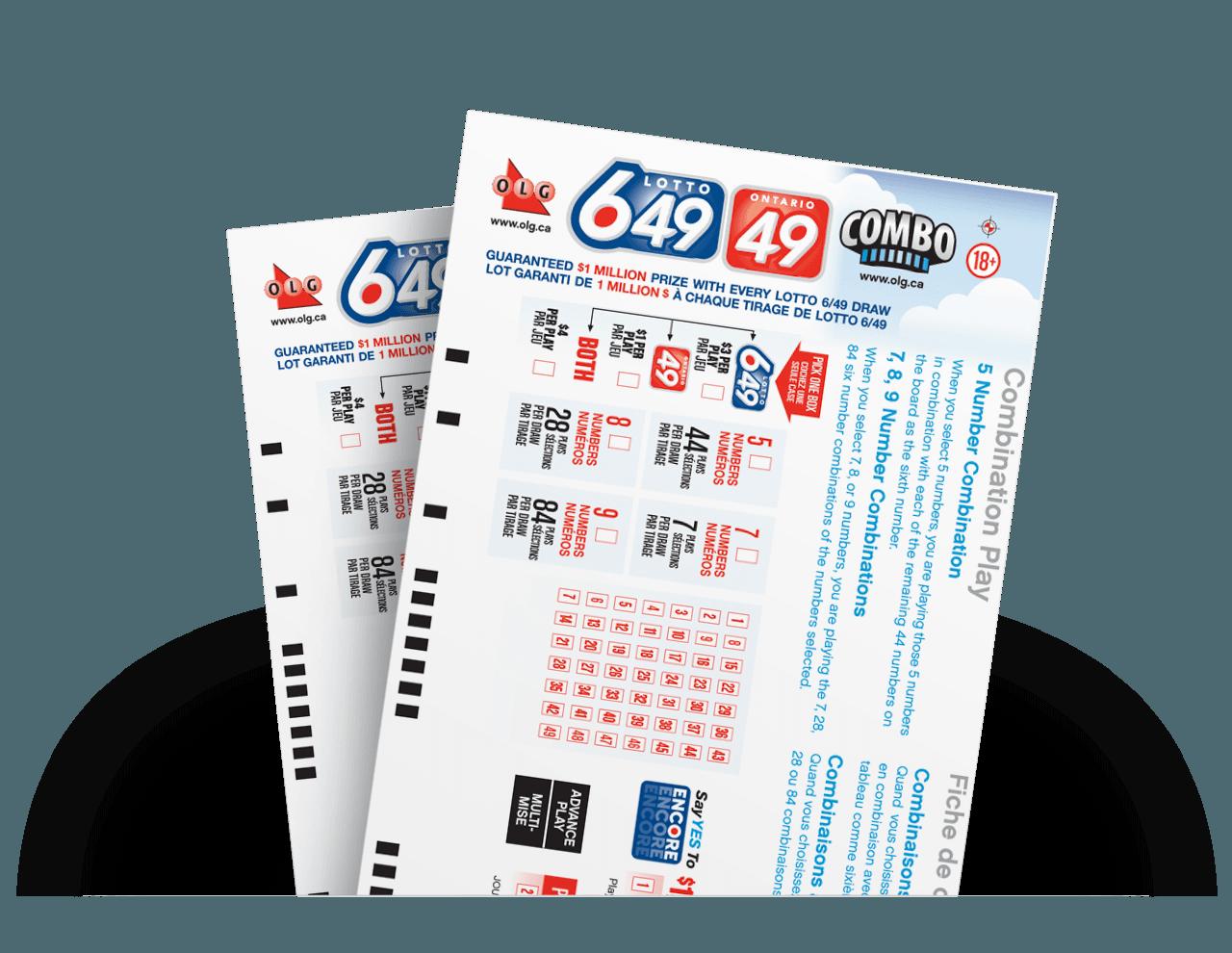 Lotto 6 49 Combination Play