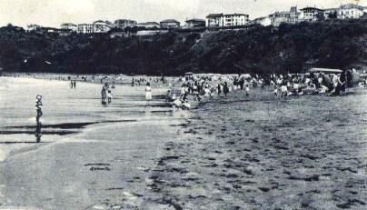 Playa de Ereaga siglo XX