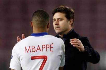 "Pochettino: ""Mbappé me dijo ayer: mañana será la segunda vez que ganes en el Camp Nou"""