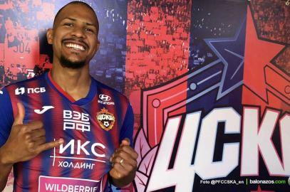 El CSKA Moscú anunció oficialmente el fichaje del goleador vinotinto José Salomon Rondón