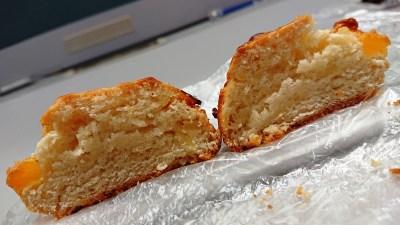 パイナップルスコーン(断面)|La boulangerie Quignon(キィニョン)