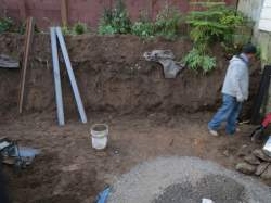 Tamate Landscaping - Old Retaining Wall Removal