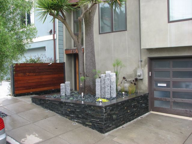 retaining wall design sf