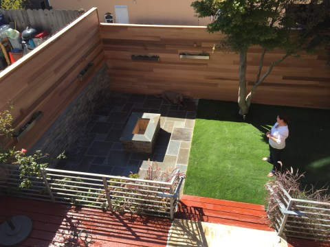 Green Turf Patio