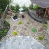 Noe Valley landscaping project, After picture of the backyard, Asian landscaping style