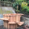 Bernal Heights, Finished Cedar Tub