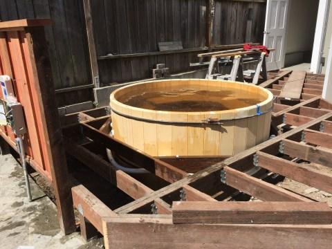 Bernal Heights, Cedar Tub with Deck