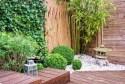 stone lantern zen garden