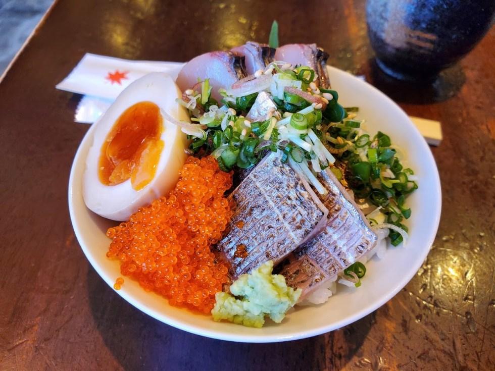 メープルのミニ海鮮丼