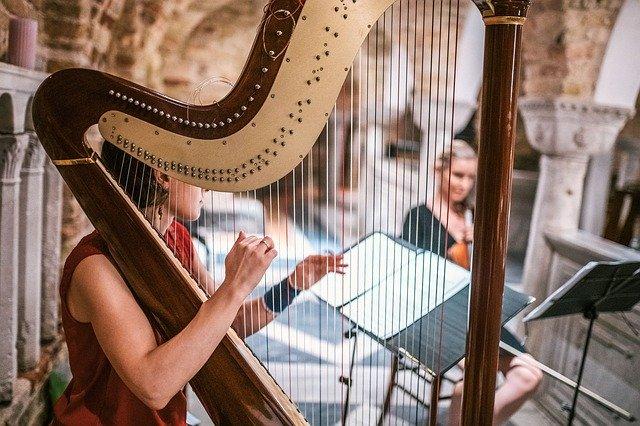 Alat musik petik harpa