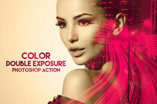 color double exposure