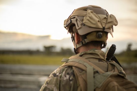 Seorang tentara Amerika Serikat