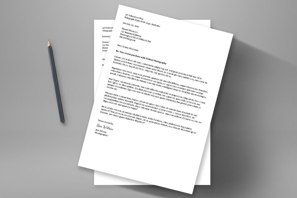 Arti Surat Pemberitahuan