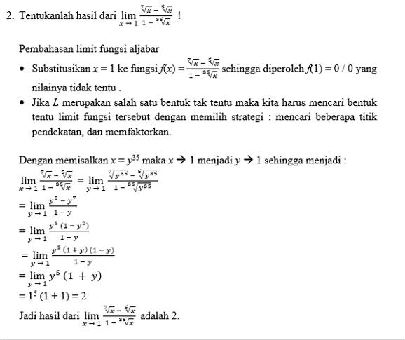 contoh limit 2
