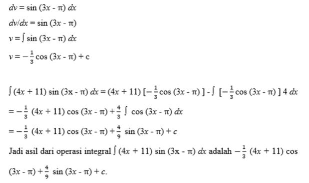 contoh soal integral 3