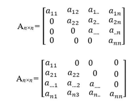 matriks segitiga
