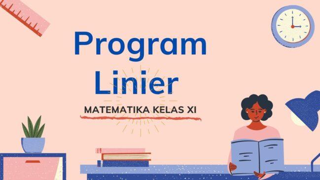 Program Linier, Contoh Soal dan Pembahasan
