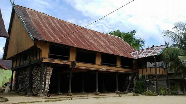 Bagian Rumah Tuo atau Rumah Rantau Panjang