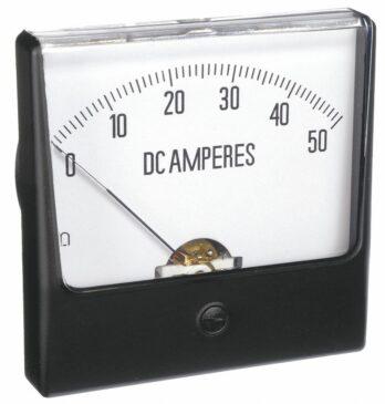 amperemeter dc