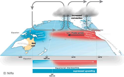 El Nino La Nina, Kondisi Anomali Iklim di Ekuator Pasifik