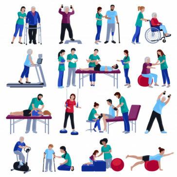 Gambaran rehablitasi yang dapat dilakukan seorang Fisioterapi