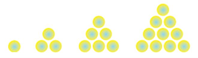 pola bilangan segitiga 2