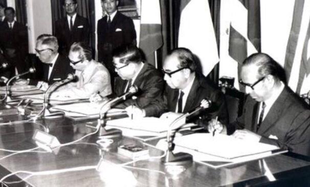 Penandatanganan Deklarasi Bangkok