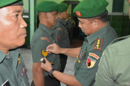 Proses Kenaikan Pangkat Untuk TNI