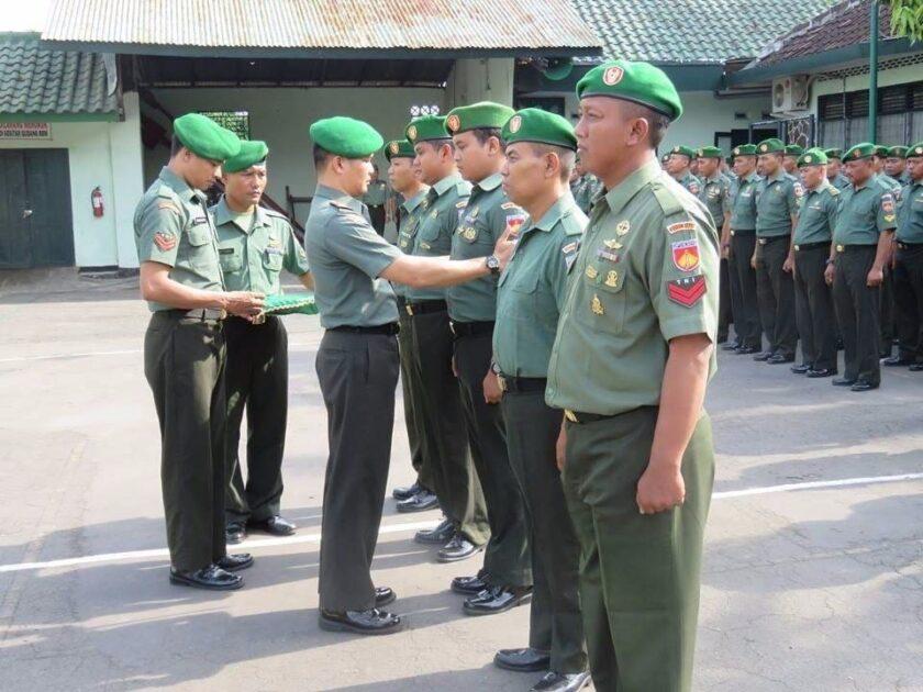 Syarat Kenaikan Pangkat TNI-AD