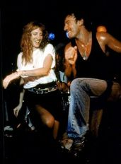 Bruce Springsteen and Patti Scialfa dance at the Stone Pony, Asbury Park, NJ August 1987 © Debra L Rothenberg / Retna Ltd.