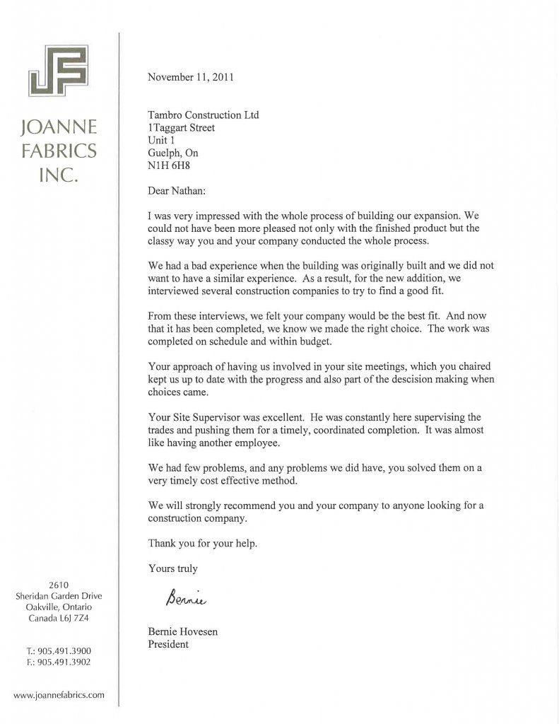 Example Letter Of Support For Grant | Cover Letter Example