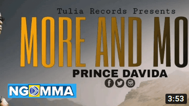 MORE AND MORE BY Prince Davida