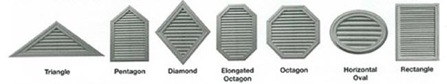 Specialty Gable Vents Tamco Thompson Architectural