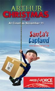 Win Tickets To Arthur Christmas And Lapland With