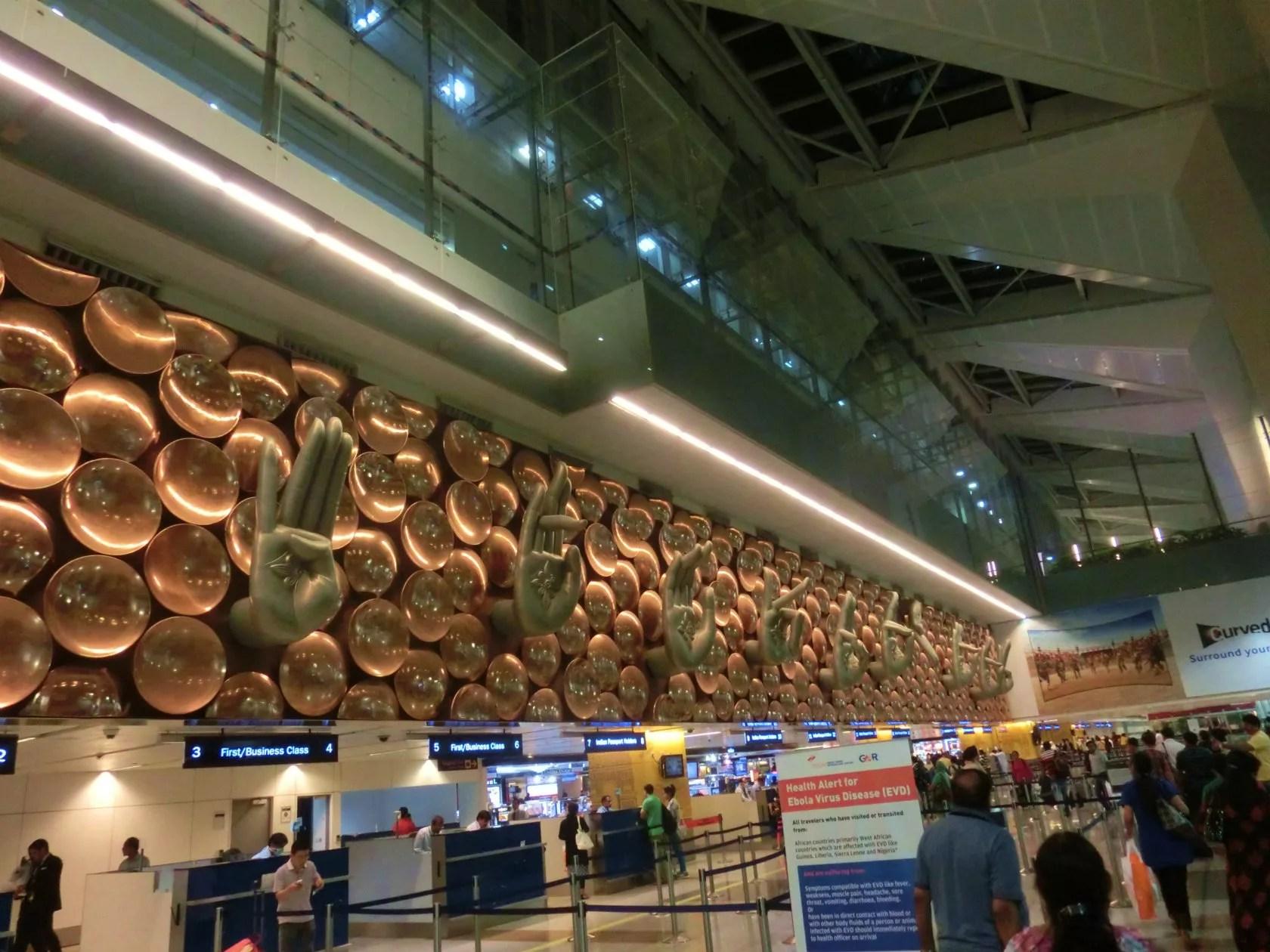 インディラ・ガンディー国際空港の有名なモニュメント