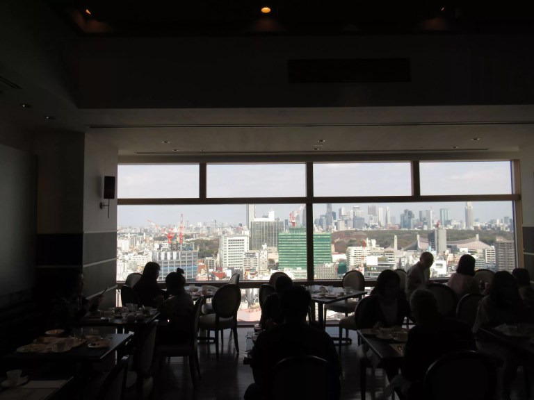 渋谷エクセルホテル東急の朝食をする場所です。